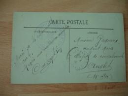 Larressore Hopital Auxiliaire 216 Cachet Franchise Postale Militaire Guerre 14.18 - Marcofilie (Brieven)