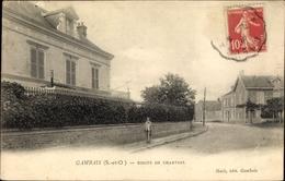 Cp Gambais Yvelines, Route De Chartres - France