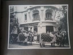 Album Photos - 1930 - VIBRAYE (72) Funérailles De Mr BOUTET Industriel à Vichy  - Pas Carte Postale - - Vibraye