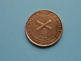 TRESORS DE FRANCE Arthus Bertrand / Historial De La Grande Guerre Peronne > Used And Uncleaned Coin (Voir / See Photo) ! - Monnaie De Paris