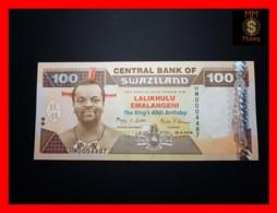 SWAZILAND 100 Emalangeni  19.4.2008 P. 34 *COMMEMORATIVE*  UNC - Swasiland