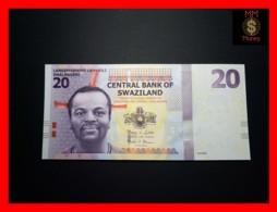 SWAZILAND 20 Emalangeni 6.9.2010 P. 37 A  UNC - Swasiland