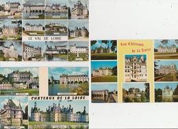 20 / 5 / 214  -  CHATEAUX  DU. VAL  DE. LOIRE  -  3. CPM - Centre-Val De Loire
