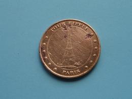 TOUR EIFFEL PARIS > Used And Uncleaned Coin (Voir / See Photo) Monnaie De Paris ! - 2004