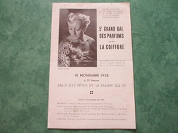 5ème GRAND BAL Des PARFUMS Et De La COIFFURE à La Salle Des Fêtes De La Mairie Du 15è - Perfumes & Belleza