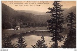 RETOURNEMER Et LONGEMER  Le Lac De Retournemer Et L'Hôtel,au Fond, Les Pentes Du Hohneck.  2 Scans  TBE - Altri Comuni