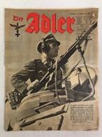Der Adler - Edition Francaise. Numero 13, 27.Juin 1944. - 5. Zeit Der Weltkriege