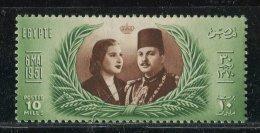 Egypte ** N° 280 -  Second Mariage Du Roi Farouk - Egypt