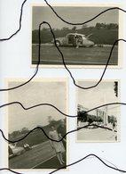 3 PHOTOGRAPHIES. Ancienne Voiture . CITROËN DS - Cyclisme