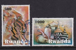Rwanda 2010, 500 And 1000 Francs, Vfu - Rwanda
