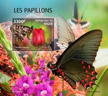 Niger 2019  Fauna Butterflies  S202002 - Níger (1960-...)