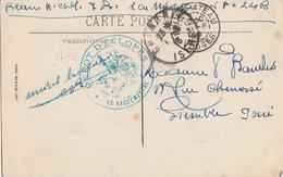 VOSGES CP 1916 NEUFCHATEAU HOPITAL DEPOTS DES ECLOPES - Marcophilie (Lettres)