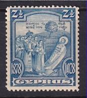 Cyprus: 1928   50th Anniv Of British Rule   SG126   2½pi      MH - Cyprus (...-1960)