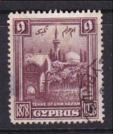 Cyprus: 1928   50th Anniv Of British Rule   SG129   9pi      Used - Cyprus (...-1960)