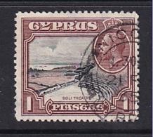 Cyprus: 1934   KGV - Pictorial   SG136   1pi      Used - Cyprus (...-1960)