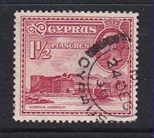 Cyprus: 1934   KGV - Pictorial   SG137   1½pi      Used - Cyprus (...-1960)