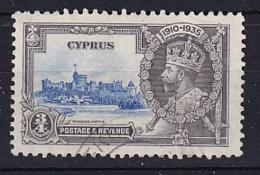 Cyprus: 1935   Silver Jubilee   SG144   ¾pi      Used - Cyprus (...-1960)