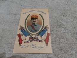 48 - CPA, Pour Le Droit Et La Civilisation , Le Général Mangin - War 1914-18