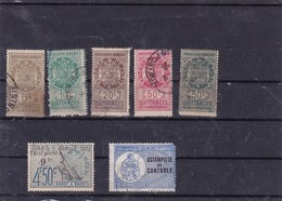 3-Lot De Timbres Fiscaux De Tunisie - Tunisia (1888-1955)