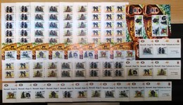 XX196 2011 !!! IMPERF, PERF BURUNDI FAUNA WILD ANIMALS MONKEYS LES PRIMATES 20SET+18KB+16 LUX BL MNH - Affen