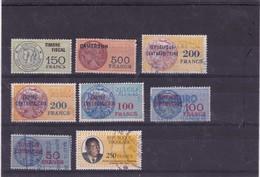 3-Lot De Timbres Fiscaux Afrique Noire - Altri - Africa