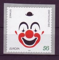 Bund 2272 SELBSTKLEBEND Von Der Rolle Europa: Zirkus 0,56 € Postfrisch - BRD