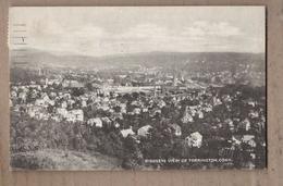 CPA USA - CONNECTICUT - TORRINGTON - Birdseye View Of Torrington - Jolie Vue Générale De La Ville + Jolie Oblitération - United States