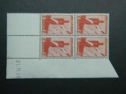 Maroc Poste Aérienne PA 44 Coin Daté 21.11.40 - Luchtpost