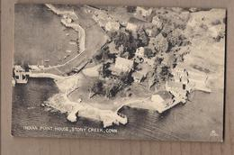 CPA USA - CONNECTICUT - STONY CREEK - Indian Point House - TB PLAN Habitation Maisons Vue Aérienne - United States