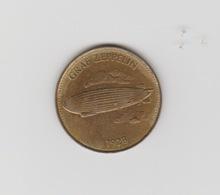 Penning-jeton-token Graf Zeppelin 1928 SHELL Coin - Netherland