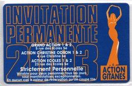 CINECARTE - CARTE CINEMA - CINE CARTE - Action Gitanes 2003 Neuve - Movie Cards