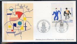 TIMBRE FRANCE...REF150520...DOCUMENT PHILATELIQUE 1ER JOUR ...10 Mars 1994 Relations Culturelles France-Suède - 1990-1999