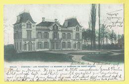 * Melle (Oost Vlaanderen) * (Phot H. Bertels - KLEUR) Chateau Les Fougères A Madame Baronne De Saint Genois, TOP - Melle