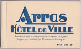 ARRAS Hôtel De Ville Pierre Paquet - Carnet Complet De 10 Cartes Postales Laflutte-Legentil Editeur - Arras
