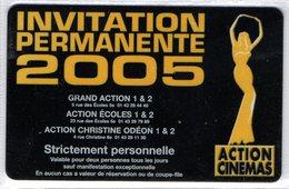 CINECARTE - CARTE CINEMA - CINE CARTE - Action Gitanes 2005 Neuve - Movie Cards