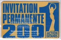 CINECARTE - CARTE CINEMA - CINE CARTE - Action Gitanes 2001 Neuve - Movie Cards