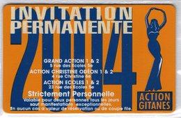 CINECARTE - CARTE CINEMA - CINE CARTE - Action Gitanes 2004 Neuve - Movie Cards