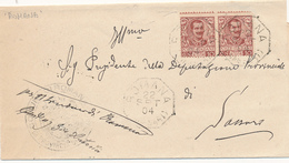 1904  SARDEGNA OTTAGONALE DI COLLETTORIA RURALE - Marcophilie