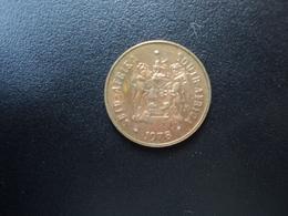 AFRIQUE DU SUD : 1 CENT   1978    KM 82    SUP - South Africa