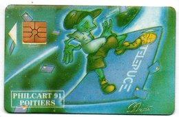 Carte Salon Philcart 91 - Telepuce - France