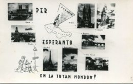 ESPERANTO - Multi-view RPPC Per Esperanto En La Tutan Mondon - Esperanto