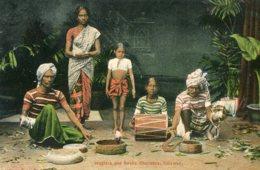 SRI LANKA (Ceylon) Jugglers And Snake Chalmers Colombo - Asia