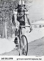 Cyclisme, Joël Gallopin - Ciclismo