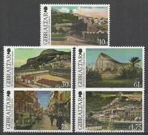 Gibraltar 2013 Mi 1534-1538 MNH ( ZE1 GIB1534-1538 ) - Coches