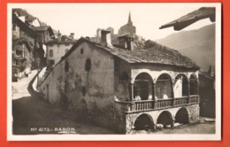 ZAH-06 Raron Rarogne Burg .  Chapallaz 4173. Nicht Gelaufen - VS Valais