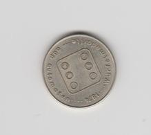 Penning-jeton-token Würfelmedaille Adp Automaten 1974 - Netherland