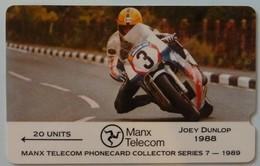 ISLE OF MAN - GPT - 3IOMC - Joey Dunlop - TT Races - Mint - Man (Ile De)