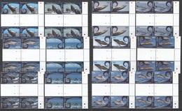 L770 AITUTAKI COOK ISLANDS WHALES & DOLPHINS #836-47 !!! MICHEL 240 EURO !!! 20% OFF 4SET MNH - Wale