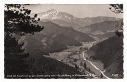 Blick Ins Klostertal Gegen Schneeberg Vom Mariahilfberg In Gutenstein - Gutenstein
