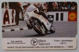 ISLE OF MAN - GPT - 3IOMD - Tony Jefferies - TT Races - Mint - Man (Ile De)